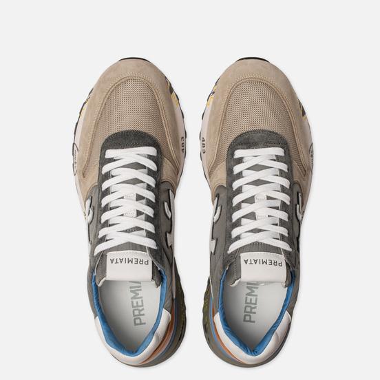 Мужские кроссовки Premiata Mick 4570 Grey/Anthracite