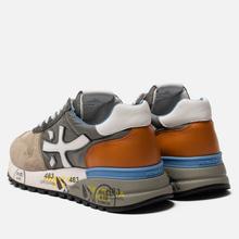 Мужские кроссовки Premiata Mick 4570 Grey/Anthracite фото- 2