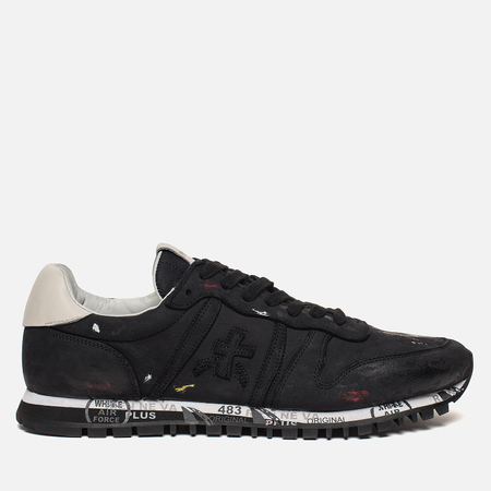 Мужские кроссовки Premiata Prince 2420 Black