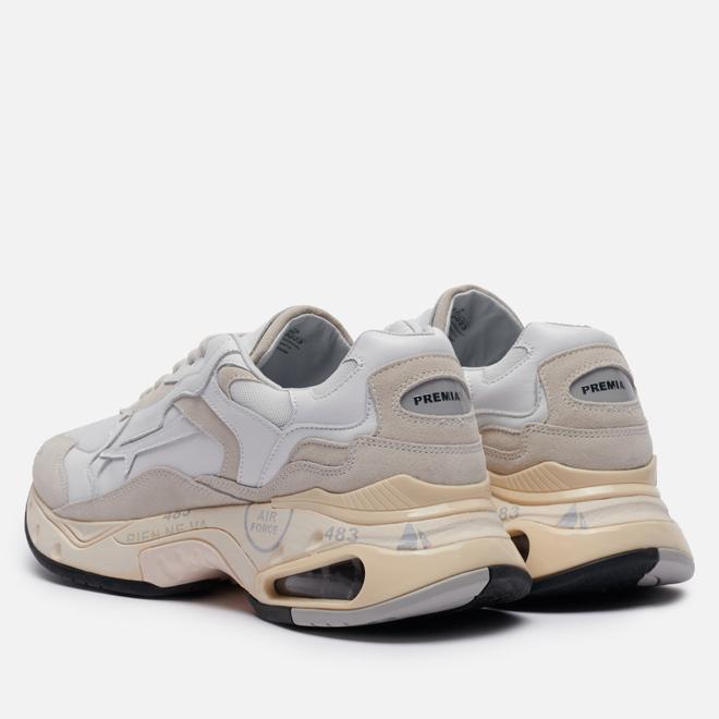 Мужские кроссовки Premiata Sharky 023 White