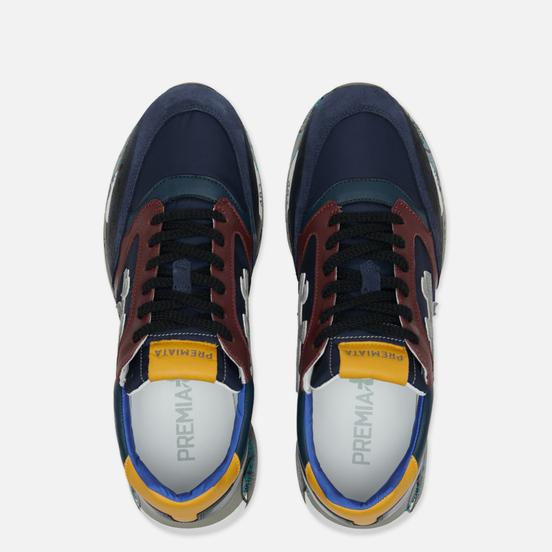 Мужские кроссовки Premiata Zac-Zac 3545 Multicolor