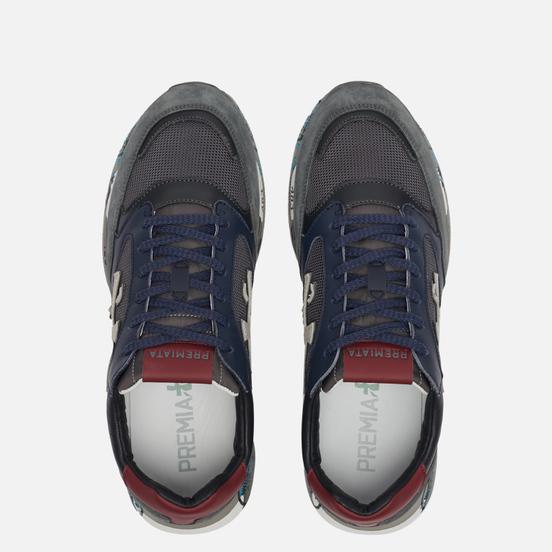 Мужские кроссовки Premiata Zac-Zac 4070 Multicolor