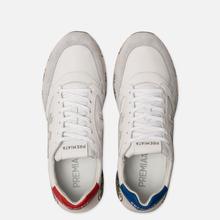 Мужские кроссовки Premiata Zac-Zac 4555 White/Grey фото- 1