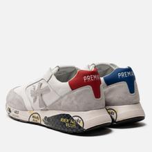 Мужские кроссовки Premiata Zac-Zac 4555 White/Grey фото- 2