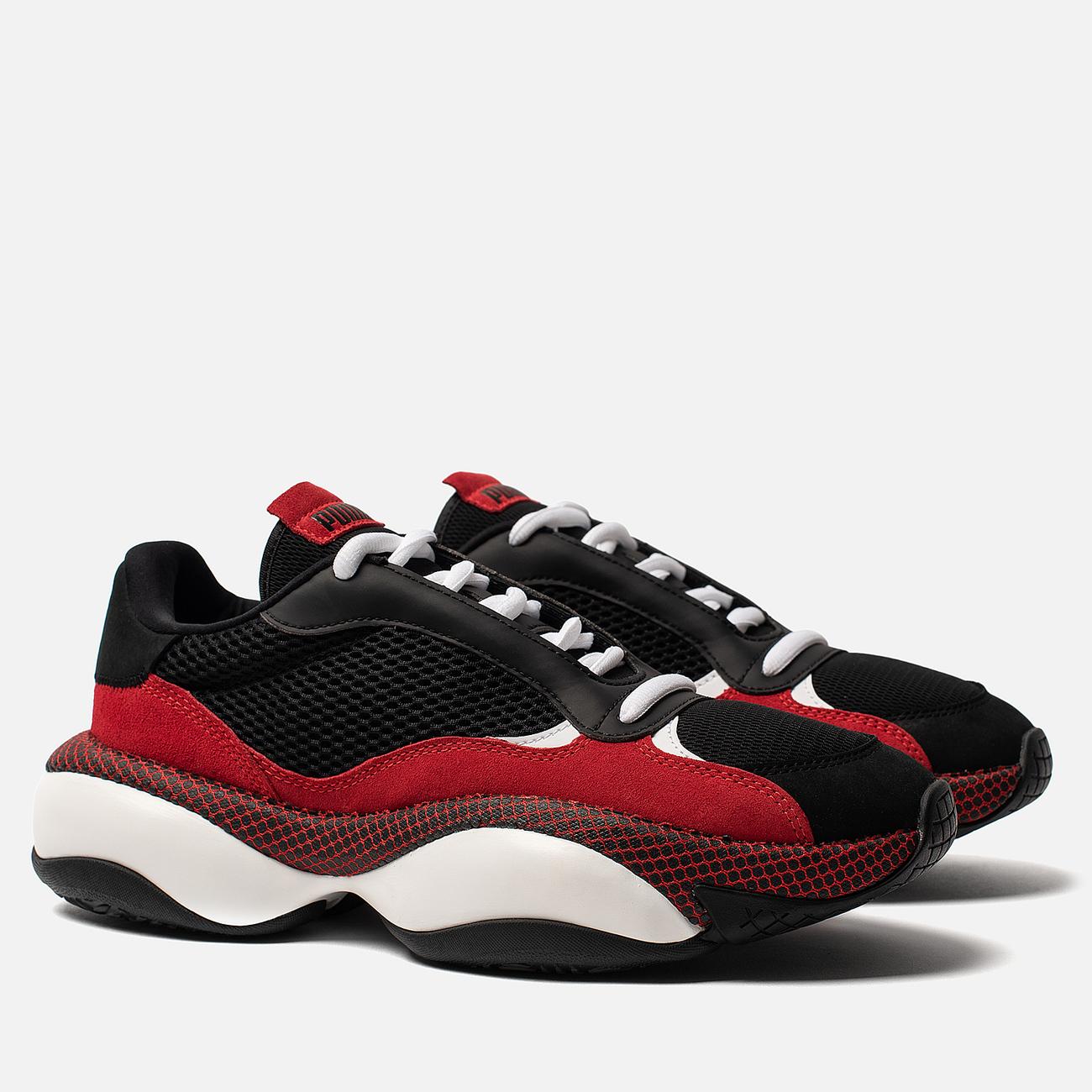 Мужские кроссовки Puma Alteration Blitz Black/High Risk Red