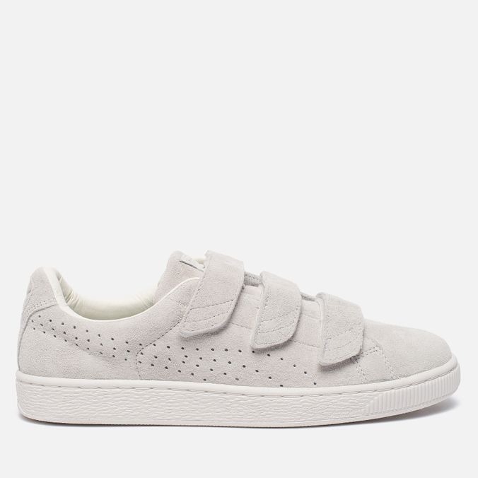 Мужские кроссовки Puma Basket Strap Soft Premium Star White