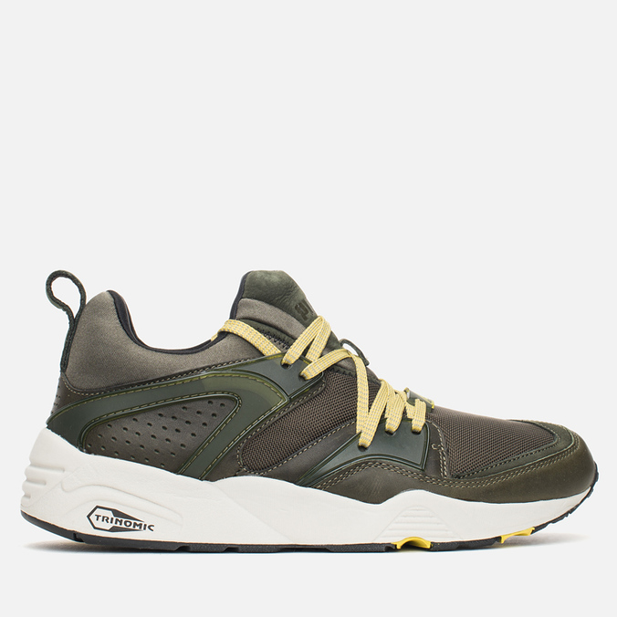 Мужские кроссовки Puma Blaze Of Glory Leather Forest Night