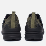 Мужские кроссовки Puma Blaze Of Glory Limitless Lo evoKNIT Olive/Black фото- 3
