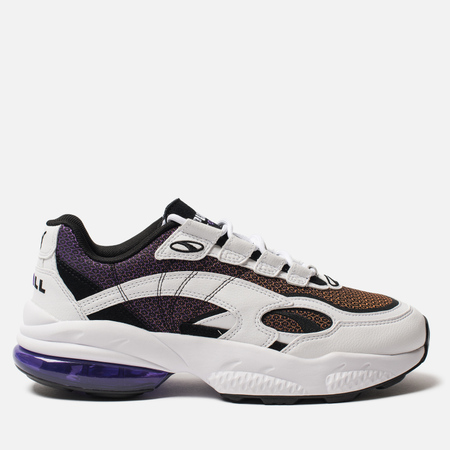 Мужские кроссовки Puma Cell Venom Lux White/Purple Glimmer