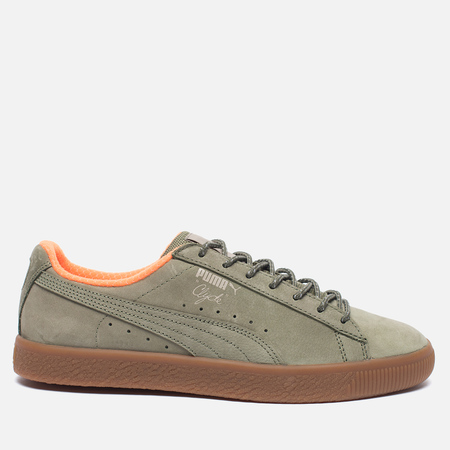 Мужские кроссовки Puma Clyde Winter Pack Burnt Olive/Vintage Khaki