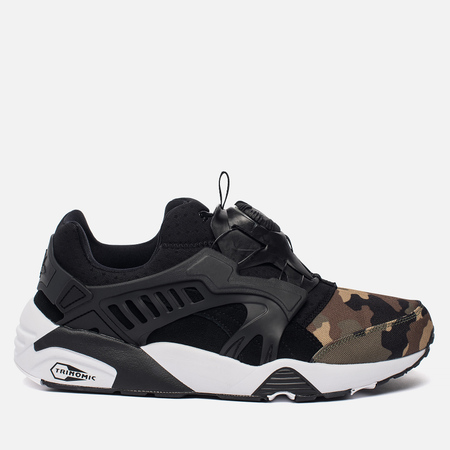 Мужские кроссовки Puma Disc Blaze Camo Pack Black/White