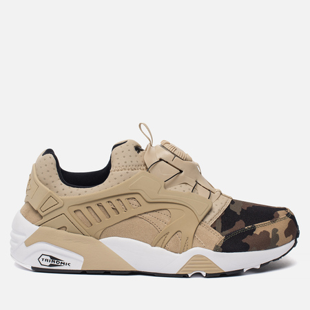 Мужские кроссовки Puma Disc Blaze Camo Pack Safari/White
