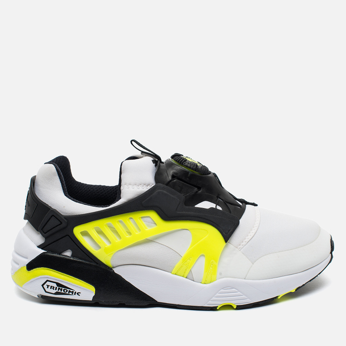 Мужские кроссовки Puma Disc Blaze Electric Black/Safety/White/Yellow
