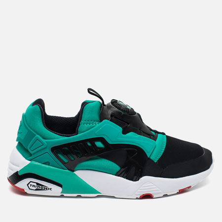 Мужские кроссовки Puma Disc Blaze Electric Black/White/Spectra Green