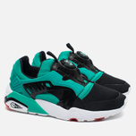 Мужские кроссовки Puma Disc Blaze Electric Black/White/Spectra Green фото- 2