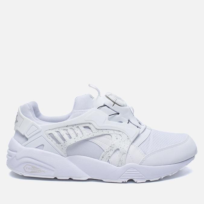 Мужские кроссовки Puma Disc Blaze White/White