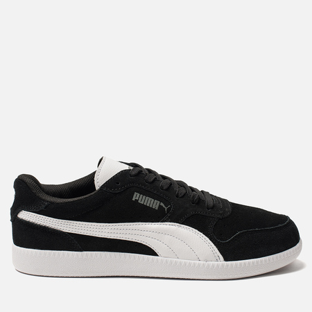 Мужские кроссовки Puma Icra Suede Trainers Black/White