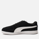 Мужские кроссовки Puma Icra Suede Trainers Black/White фото- 2