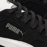 Мужские кроссовки Puma Icra Suede Trainers Black/White фото- 6