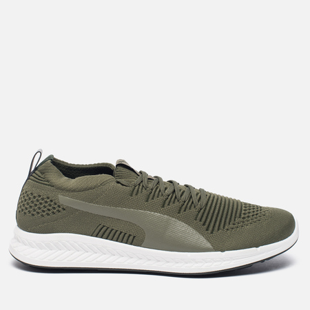 Мужские кроссовки Puma Ignite evoKNIT 3D Burnt Olive/White