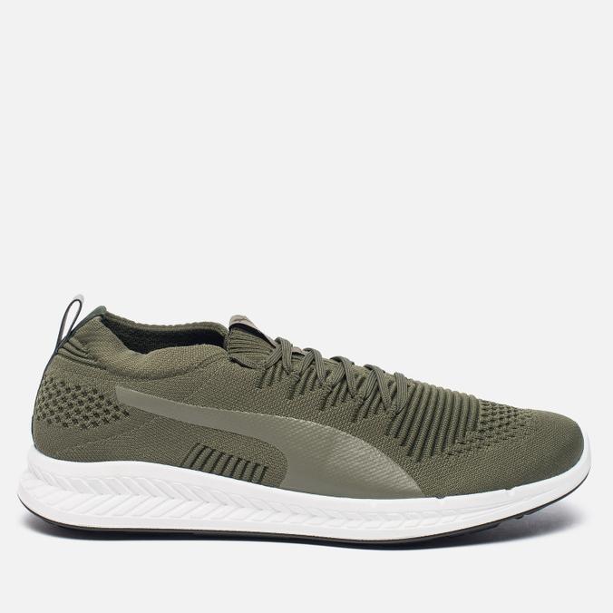 Мужские кроссовки Puma Ignite evoKNIT 3D Burnt Olive/White