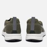 Мужские кроссовки Puma Ignite evoKNIT 3D Burnt Olive/White фото- 3