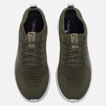 Мужские кроссовки Puma Ignite evoKNIT 3D Burnt Olive/White фото- 4