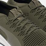Мужские кроссовки Puma Ignite evoKNIT 3D Burnt Olive/White фото- 5