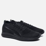 Мужские кроссовки Puma Ignite evoKNIT 3D Triple Black фото- 2