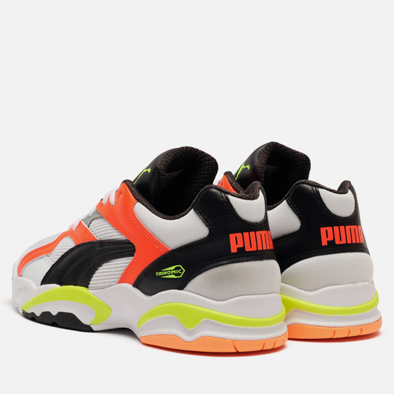 Мужские кроссовки Puma Performer Retro White/Lava Blast/Yellow