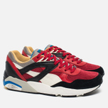 Мужские кроссовки Puma R698 Flag Pack Black Asphalt/Barbados Cherry фото- 1