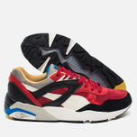 Мужские кроссовки Puma R698 Flag Pack Black Asphalt/Barbados Cherry фото- 2
