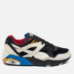 Мужские кроссовки Puma R698 Flag Pack Black/Whisper White фото- 0