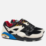Мужские кроссовки Puma R698 Flag Pack Black/Whisper White фото- 1
