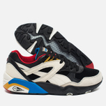 Мужские кроссовки Puma R698 Flag Pack Black/Whisper White фото- 2