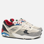 Puma R698 Flag Pack Men's Sneakers Whisper White/Drizzle Asphalt photo- 1
