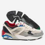 Puma R698 Flag Pack Men's Sneakers Whisper White/Drizzle Asphalt photo- 2