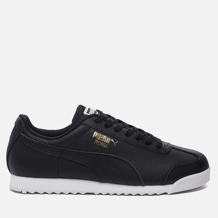 Мужские кроссовки Puma Roma Basic Perf Black/White/Team Gold