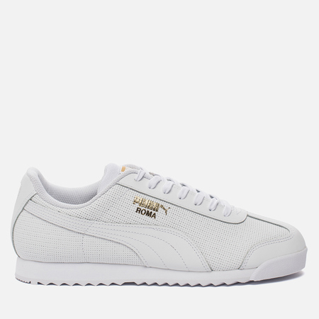 Мужские кроссовки Puma Roma Basic Perf White/White/Team Gold