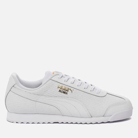 Мужские кроссовки Puma Roma Basic Perf White/White/Team Gold