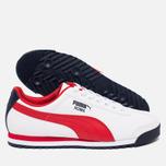 Мужские кроссовки Puma Roma Basic White/Red фото- 2