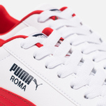 Мужские кроссовки Puma Roma Basic White/Red фото- 5