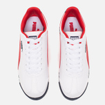 Puma Roma Basic Men's Sneakers White/Red photo- 4