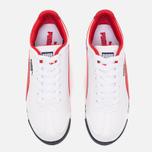 Мужские кроссовки Puma Roma Basic White/Red фото- 4