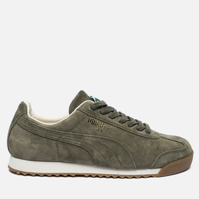 Мужские кроссовки Puma Roma Distressed NBK Burnt Olive/Whisper White