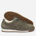 Мужские кроссовки Puma Roma Distressed NBK Burnt Olive/Whisper White фото- 1