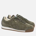 Мужские кроссовки Puma Roma Distressed NBK Burnt Olive/Whisper White фото- 2