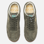 Мужские кроссовки Puma Roma Distressed NBK Burnt Olive/Whisper White фото- 4