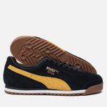 Мужские кроссовки Puma Roma Gents Black/Spectra Yellow/White/Gold фото- 2