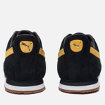 Мужские кроссовки Puma Roma Gents Black/Spectra Yellow/White/Gold фото- 3